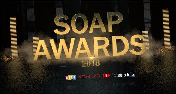 SOAP AWARDS FRANCE 2018 :  Demain nous appartient, Les feux de l'amour, Plus belle la vie, Top Models, Les Mystères de l'amour, Cut, Une question d'honneur