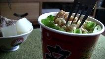 Ω (HD) ASMR - NongShim Shin Ramen Cup Noodles ( Eating Sounds )