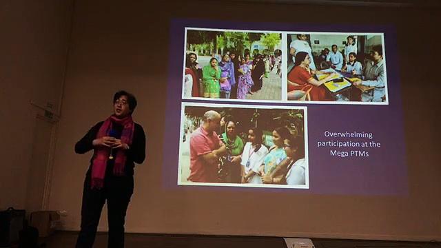 'Transformation in Delhi Education' by Atishi Marlena, Advisor of Delhi Education Mininster at YMCA London on Delhi Education Transformation