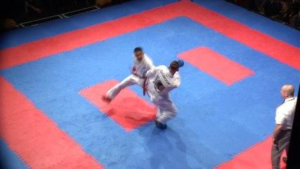 Karate | 10K Karate Clash | Jordan Thomas v Johny Gilmore | Qtr Final