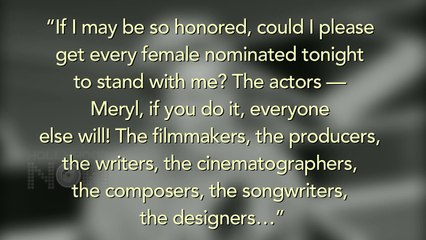 Frances McDormand OSCAR Best Actress Full Speech At 2018 OSCARS | 90th Academy Awards