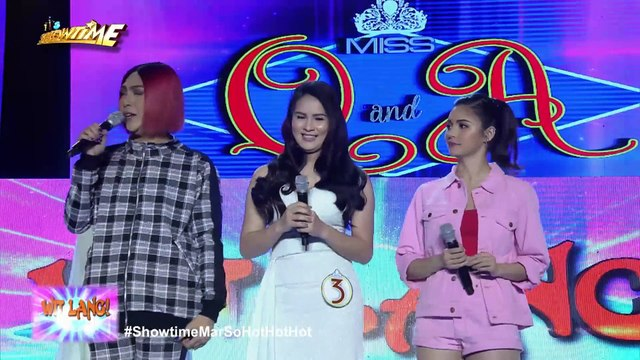 """It's Showtime Miss Q & A: Vice Ganda warns """"Ate Girl"""""""