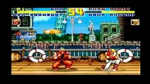 Fatal Fury Special SNES Playthrough As Ryo Sakazaki