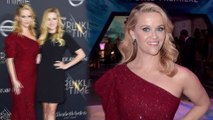Two peas in a pod! Reese Witherspoon brings lookalike daughter Ava Phillippe as date to premiere of her film A Wrinkle In Time.