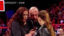 À WrestleMania 34 : Ronda Rousey et Kurt Angle seront contre Triple H et Stephanie McMahon