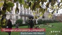 Paris leur dit merci : le making off
