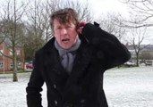 Jonathan Pie Delivers a Report from a Snow-Covered Field, Wishes He Was Somewhere Warm