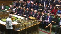 PM heckled by MPs as she updates House of Commons on Brexit
