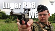 AIRSOFT  - Luger P08 WE Review