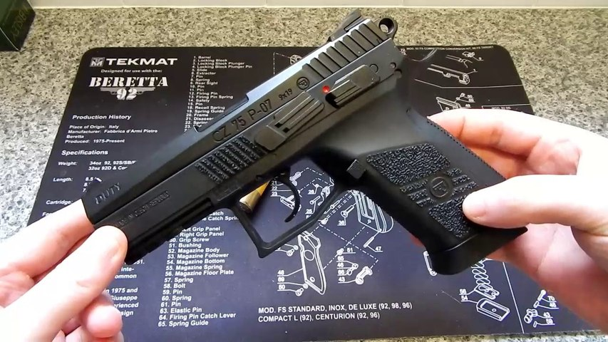 ASG CZ75 PO7 DUTY 4 5mm Airgun Disassembly