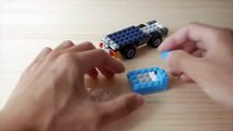 Building a simple LEGO Mixer truck using Classic 10696 (レゴ:ミキサー車の作り方)