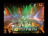 인기가요 베스트 50 - Cola - Gloomy coincidence, 콜라 - 우울한 우연, MBC Top Music 19961214