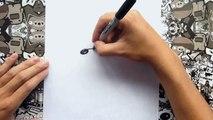 Como dibujar a freddy de five nights at freddys | how to draw freddy fazbear