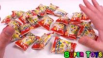 Stikeez toys unboxing surprises toy surprises Kinder Surprise/Стикиз рапаковка сюрпризов игрушек