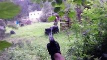 Airsoft Sniper Gameplay - Scope Cam - Urban Sniper Team