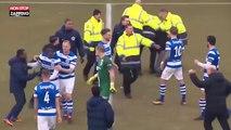 Football : bagarre entre joueurs et supporters aux Pays-Bas (vidéo)