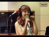 정오의희망곡 김신영입니다 - Baek Ah-yeon - Shy Shy, 백아연 - 부끄부끄 20130627