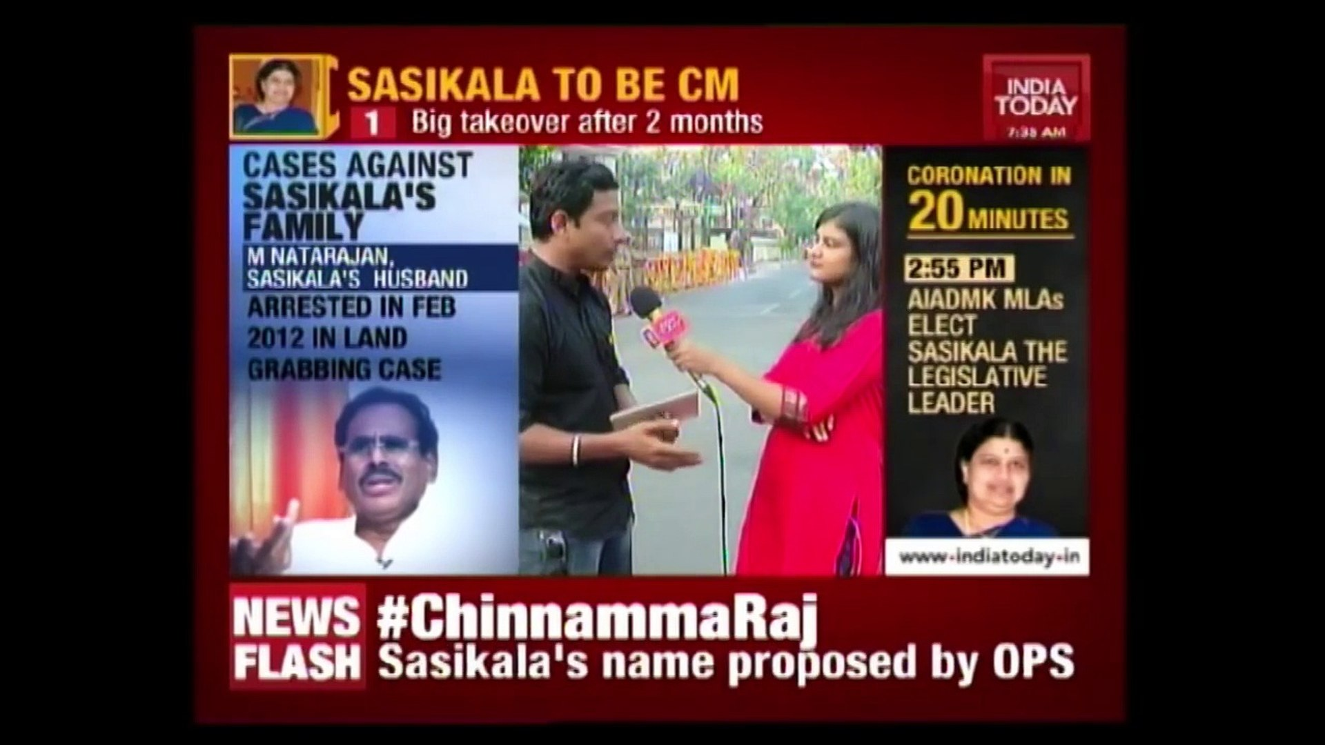 First UP: Oppostition Parties React To Sasikala's Elevation As Tamil Nadu Chief Minister