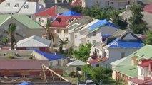 À Saint-Martin, de nombreuses maisons encore ravagées six mois après le passage d'Irma
