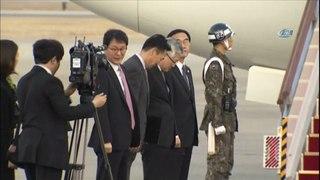 Guney Kore Heyeti Kuzey Kore'den Ayrildi Kuzey Kore Lider