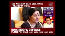Sushma Swaraj Helps Ailing Woman To Get Medical Visa To India