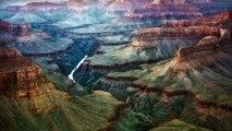 le grand canyon (les grandes gorges) Lucienne