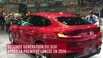 BMW X4 : présentation vidéo depuis le salon de Genève 2018