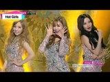 [Dazzling Silver] Girls' Generation-TTS - Holler, 소녀시대-태티서 - 할라 1위, Music Core 20141011