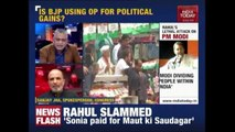 Rahul Gandhi Attacks PM, Says Modi Playing Politics With Blood Of Soldiers