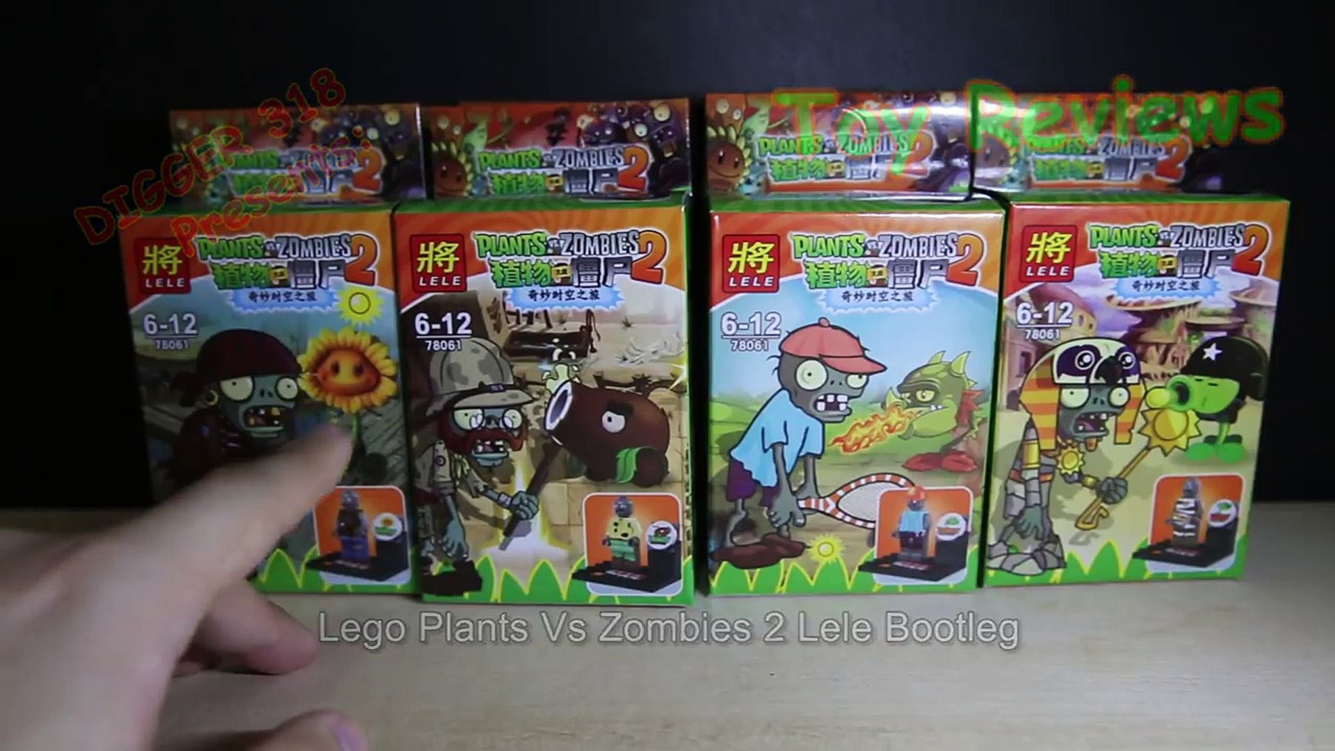 Lego Plants Vs Zombies 2 Lele Bootleg Review