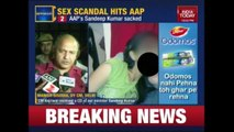 Newsroom: AAP Minister, Sandeep Kumar Sacked After His Sex Tape Emerges