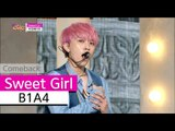 [Comeback Stage] B1A4 - Sweet Girl, 비원에이포 - 스윗 걸, Show Music core 20150808