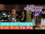 Choa, Yuna, Mina (AOA) - cotton candy, 초아, 유나, 민아 (AOA) - 솜사탕 [정준영의 심심타파] 20150624