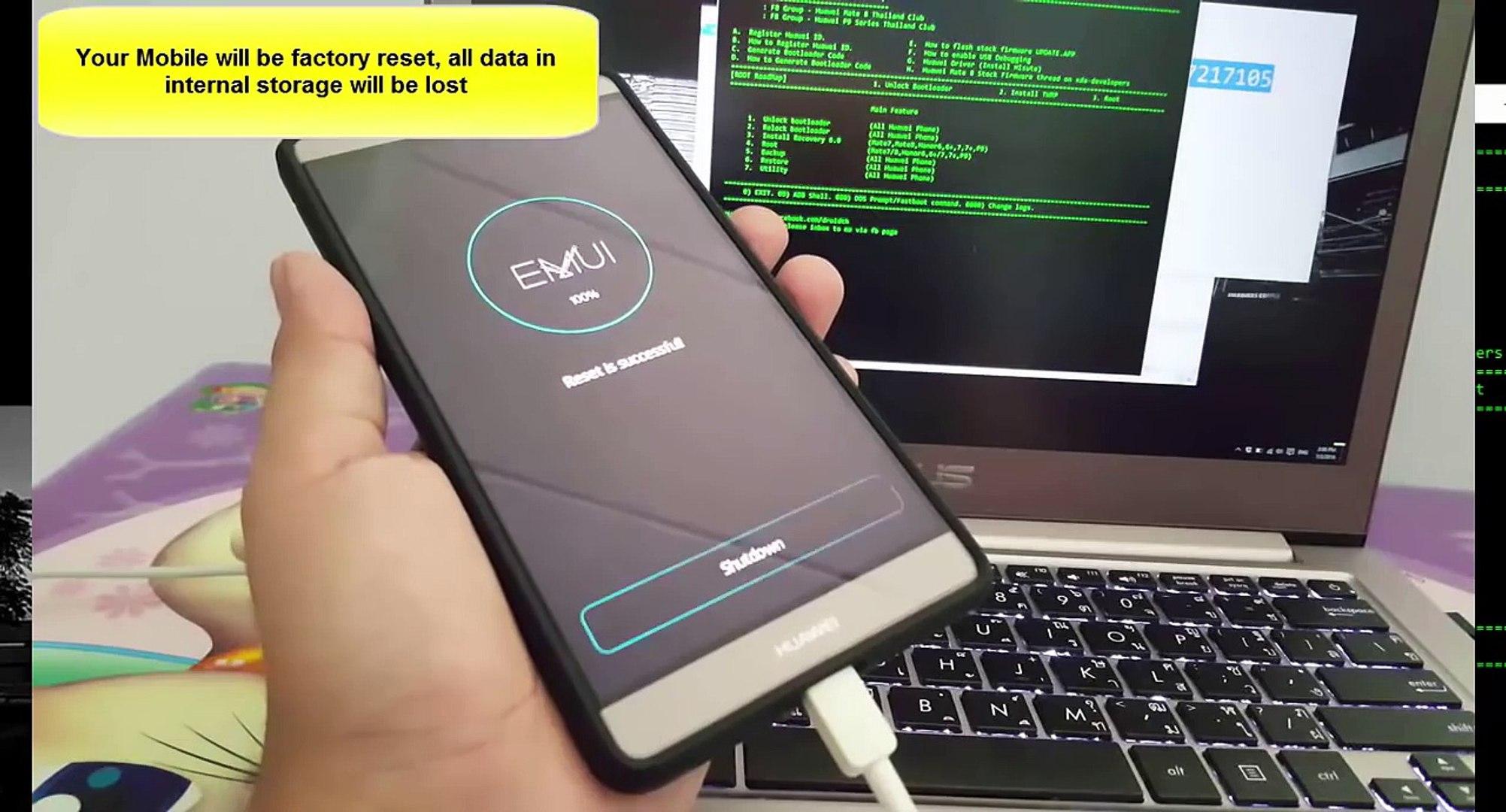 [GUIDE] Unlock bootloader/TWRP/ROOT by SRK Tool Huawei