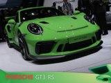 Porsche 911 GT3 RS en direct du salon de Genève 2018