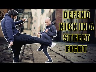 How to defend yourself against leg kick in the street fight
