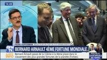 Bernard Arnault, le patron de LVMH, devient la 4e fortune mondiale selon le dernier classement Forbes