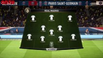 Simulation de PSG - Real Madrid