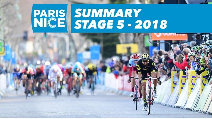 Summary - Stage 5 - Paris-Nice 2018