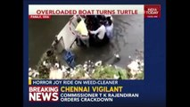 Photo-Op Of Panaji Mayor Ends Up In Sewage Caught On Camera