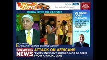 African Student Community Protests Against Racist Violence In Delhi