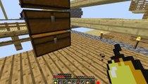 MineCraft - Tiến Hóa zombie thành dân làng siêu xịn skyblock - how to get villagers skyblock 2.1
