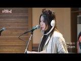 [Park Ji Yoon's FM date] Thursday Live. Hyeran (Brave Girls) - Team, 혜란 - 팀 [박지윤의 FM데이트]20160721
