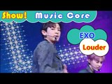 [HOT] EXO - Louder, 엑소 - 라우더 Show Music core 20160827