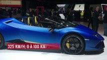 La Lamborghini Huracan Performante Spyder en vidéo depuis le salon de Genève 2018