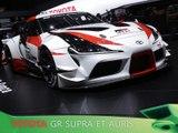 Toyota GR Supra et Auris en direct du salon de Genève 2018