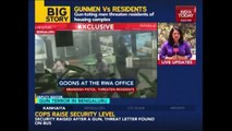 Residents Threatened By Armed Goons In Bengaluru