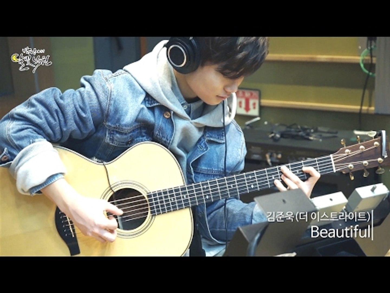 [Moonlight paradise] Junwook Kim - Beautiful (guitar cover),김준욱 - Beautiful [박정아의 달빛낙원] 20170127