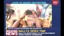 Youth Congress Workers Protest Against Fuel Price Hike In Delhi