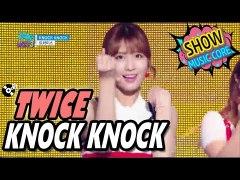 HOT TWICE 트와이스 KNOCK KNOCK Show Music cor